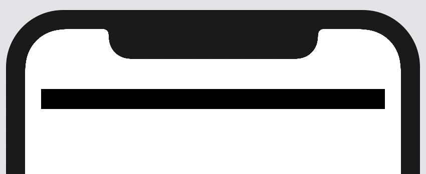 Initial progress bar.