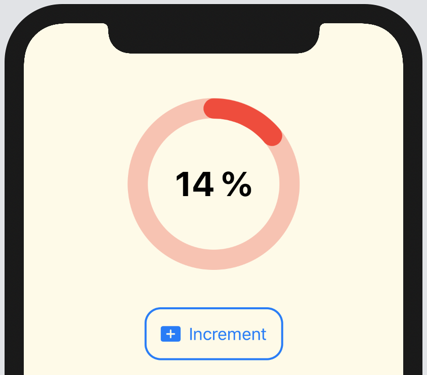 Circular progress bar in SwiftUI