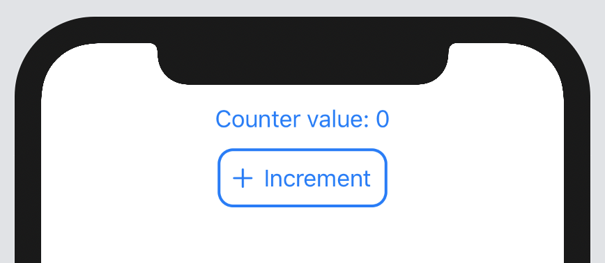 SwiftUI button updating counter value