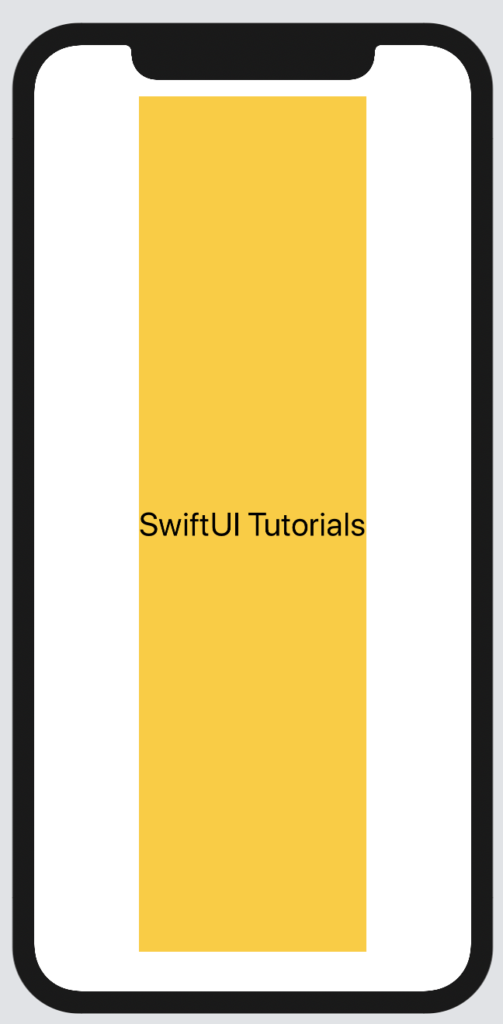 Vertically expanded Text view in SwiftUI