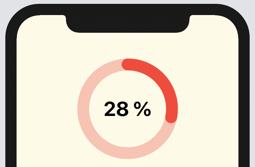 Progress bar in SwiftUI