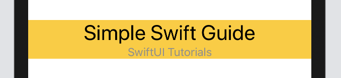 Horizontally expanded VStack in SwiftUI